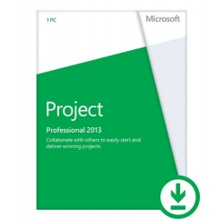 Microsoft Project Professional 2013 ESD