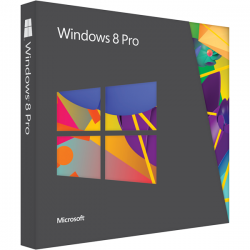 Microsoft Windows 8 Professional BOX DVD